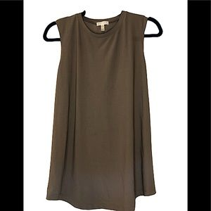 LEITH open back tank top brown size M